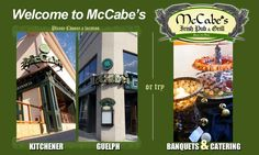 McCabe's Pub is a great hot spot for night life hangout Eat Your Heart Out, Nightlife, Welcome, Brewery, Catering, Irish, Grilling, Things To Do, Hot
