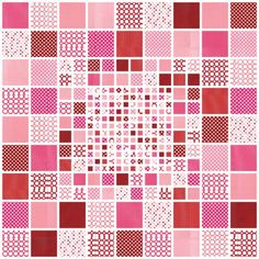 Spotty Resolution (Mosaic Lap Quilt) Free Pattern