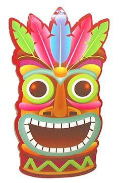 Luau Tiki Clip Art Clipart Panda Free Clipart Images - Clipart Suggest Aloha Party, Hawaiian Luau Party, Moana Birthday Party, Hawaiian Tiki, Hawaiian Birthday, Moana Party, Tiki Party, Tropical Party, Festa Moana Baby