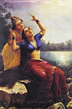 7 Ravi Varma Paintings to Celebrate your Parents' Wedding Anniversary