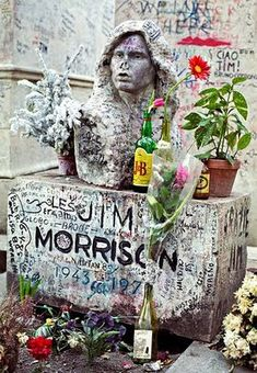 Père Lachaise Cemetery, France: The Doors lead singer Jim Morrison is often seen roaming near his grave at Paris' Père Lachaise Cemetery. There are also many other stories of visitors seeing spectral lights, translucent figures and other disembodied spirits roaming throughout the cemetery.