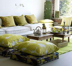 Bohemian-Style-Floor-Cushions