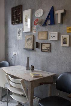 Essplatz, Tags Wohnen + Küche + Altbau + Stilmix + Bilderwand + Vintage + Wohnstile + Stilmix