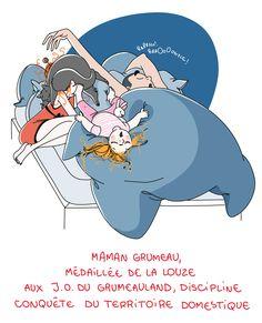 Petit précis de Grumeautique - Blog illustré by Nathalie Jomard (not a GIF)