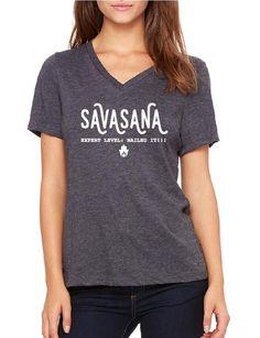 Savasana : Nailed It - Ladies V Neck Relaxed
