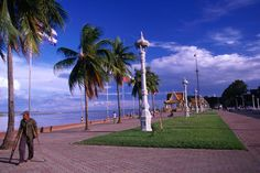 Cambodia Image - Sisowth Quay waterfront, Phnom Penh - Lonely Planet