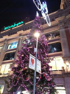 Barcelona feels Christmas and Christmas trees could not miss in our city!  Did you know that there are a total of 15 large #Christmas trees placed by the City decorating the streets?