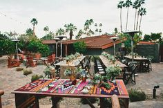 desert tablescape reception