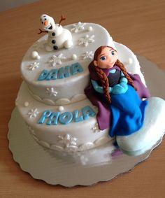 #AlpanpanDF #arteenfondant #pasteldefrozen  Solicita tu pastel con tiempo al 56-30-68-95-59