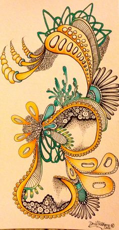 Zentangle  Tangler - David Feldkamp  Columbus, Ohio