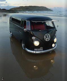 VW combi car