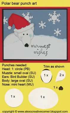 Polar Bear Punch Art