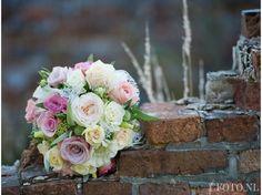 www.cfoto.nl, Caroline Elenbaas Fotografie,  bruidsfoto, bruidsfotografie, boeket, bruidsboeket, trouwen, huwelijk, sluier