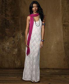 Denim & Supply Ralph Lauren Dress, Sleeveless Knit Maxi - Dresses - Women - Macy's