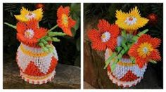 Florero y flores