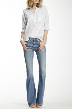 Farrah Bell Bottom Jean by AG on @HauteLook