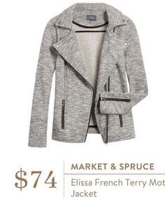 Cute jacket! xoxo SLC