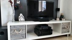 Ikea Kallax DIY TV Stand