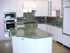 Kitchen Backsplash Height marmor stone & design: 6 kitchens with full height slab
