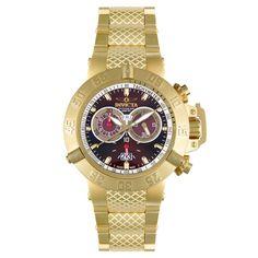 Invicta Men's 5405 Subaqua Noma III Collection Gold-Tone Chronograph Watch