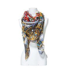 MULTICOLORED GEOMETRIC SCARF - Scarves - Accessories - Woman | ZARA United States