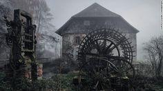Old mill in Eastern Bavaria, Germany. Kilian Schönberger