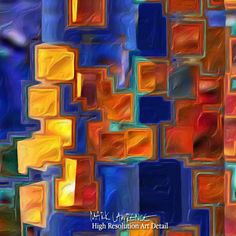 Large Painting Detail- Christian Art-Philippians 2:13. Versevisions inspirational abstract art by Mark Lawrence. Artist Direct- Original limited edition signed canvas & paper giclees