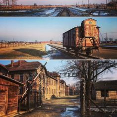 --- Photo by @barzdonas --- Auschwitz. Visual symbols of the German Nazi concentration and extermination camp.