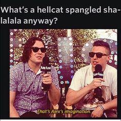 Nick & Matt on hellcat spangled shalala