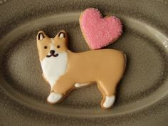 ❥Puppy Party. Collie cookie