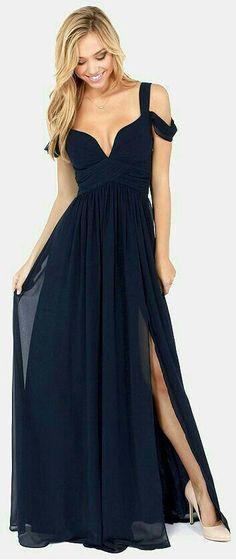 Vestido formatura preto