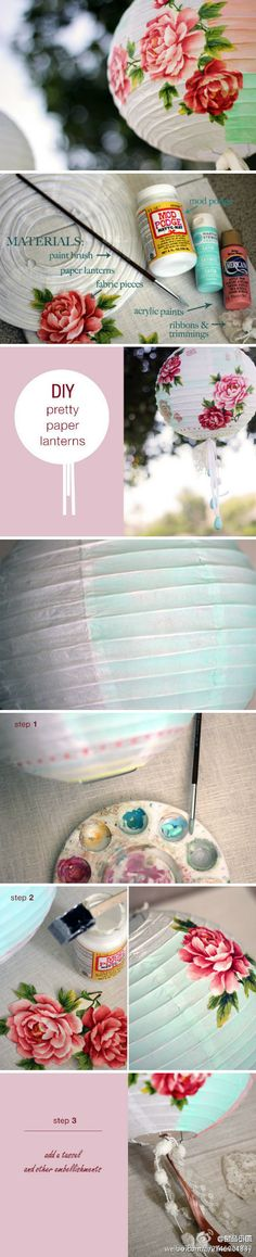 DIY beautiful Chinese Lantern ♡ #China