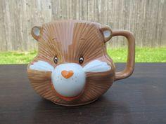 Vintage Care Bear Friendship Bear Mug 1984