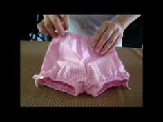 DIY - Shortinho básico para bebê passo a passo - molde grátis