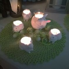 Love these bunnies! #PartyLite #Easter
