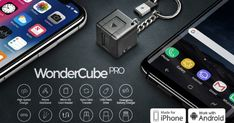 Charger, Memory, KickStand, Emergency Power...all packed 1-inch. Take it with you always, on the go. | Check out 'WonderCube Pro - Mobile Essentials in 1 Cubic Inch' on Indiegogo.