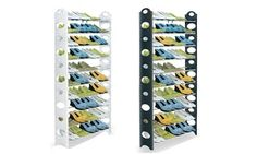 Groupon - Ten-Tier Shoe Rack in Choice of Colour for 15.98 (60% Off). Groupon deal price: £15.98