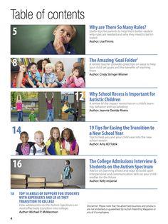 Autism Parenting Magazine Special Edition - Back to school. Read it now #Autism #autismparent #school.