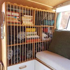 Instagram: @radius_ulna - Blog: www.radius-ulna.com - Original design for the wardrobe of a DIY camper van.