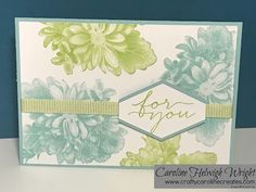 Fresh Heartfelt Blooms - Card Inspiration with Stampin' Up Products.