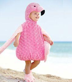 "Claire's Halloween Costume 2013: Fuzzy Flamingo. She calls them ""Pinky Bingos"""