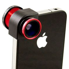A fancy clip-on lens to up your photo-taking game. | 33 Products Every iPhone Addict Will Want