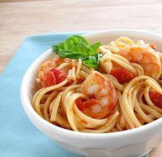 Arrabiata Sauce with Shrimp & Linguine | Recipe | Quick Dinner Ideas