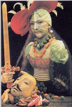 "Yasumasa Morimura, ""Mother (Judith II),"" 1991, photograph, 242.6 x 160 cm, Asian Art Department, Denver Art Museum, Denver, Colorado, United States"