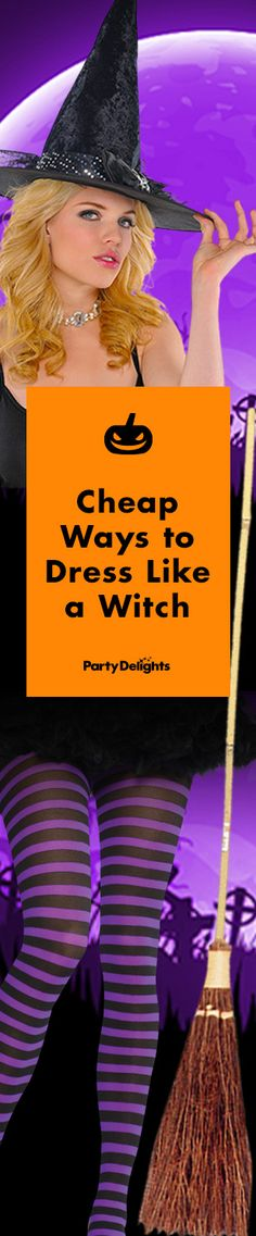 Read our cheap witch costume ideas for spooktacular Halloween fancy dress on a budget!