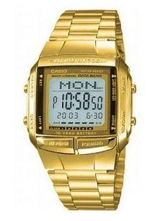 Reloj Casio Db-360 Vintage Gold Data Bank Dorado 30 Memorias