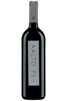 Aalto PS Ribera del Duero 2009. Among the wines offered as part of the Ribera del Duero tastings at Hedonism Wines, London, UK (21 January 2015)