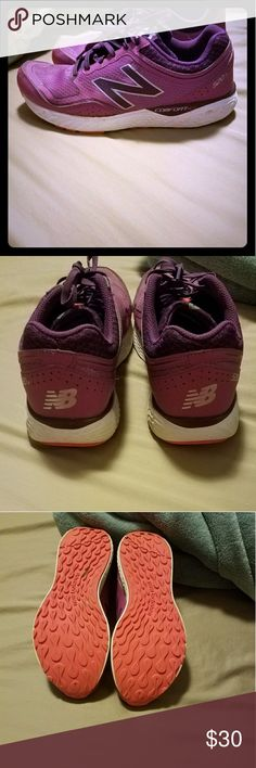 New Balance 520v2 New Balance 520v2 comfort ride running sneakers size 10 in good worn condition ran with inside only on treadmill. From a smoke free home New Balance Shoes