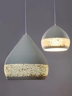 POTT Sponge Oh: Aus Keramik / Made of ceramics #lamp #leuchte #Keramik #ceramics #design