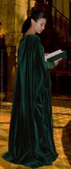 Rivendell erudite test (green velvet dress) II